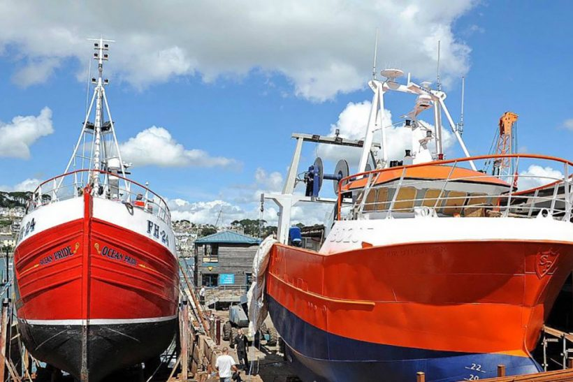 Polruan boatyard, C Toms & Son Ltd,  seeks 'new builds'