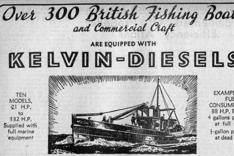Commercial fishing: Looking back to 1945