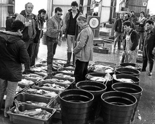 Fishmarkets of yesteryear: Newlyn