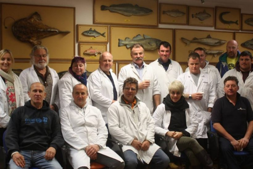 'Welsh Seafood Cluster' visits centres of fish excellence in London