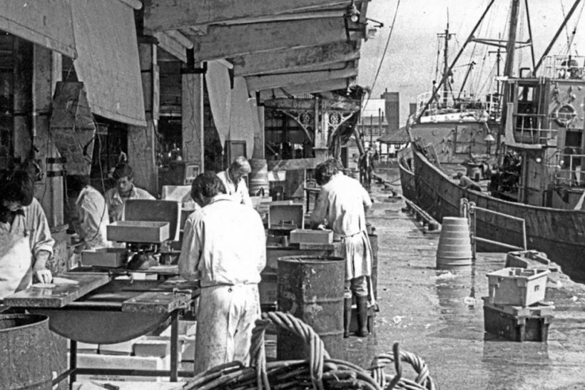 Fishmarkets of Yesteryear: Lowestoft