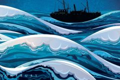 Book: The Naked Shore of the North Sea by Tom Blass