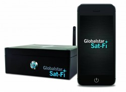 Sat-Fi - world's most powerful satellite hotspot - turning any Wi-fi device into a satphone