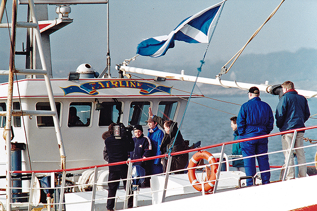 Firth of Forth, Alex Salmond, Fairline