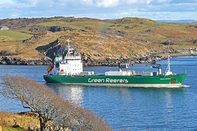 Killybegs Green Bergen reefer