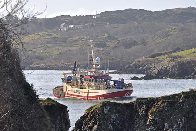 Killybegs Cisemair pair trawler