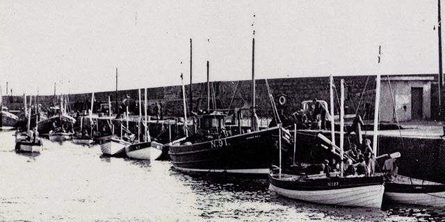 Kilkeel, herring, skiff, 1952
