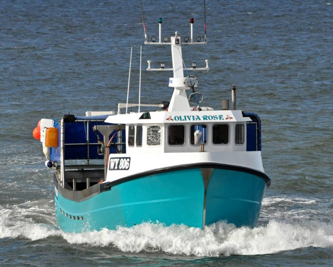 Whitby crabbers pot losses