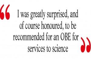 Dr John Gordon OBE