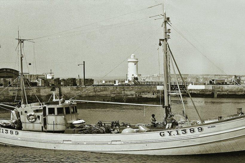 Buckie-built anchor-seiners