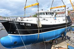 Whalsay Resilient launched at Whitby