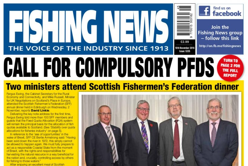 New issue: Fishing News 10.11.16
