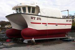 Mayo catamaran Natalie gets major overhaul