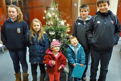 Orkney fish-themed Christmas trees