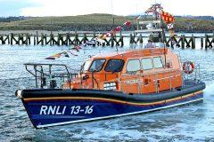 New Shannon lifeboat: Elizabeth and Leonard