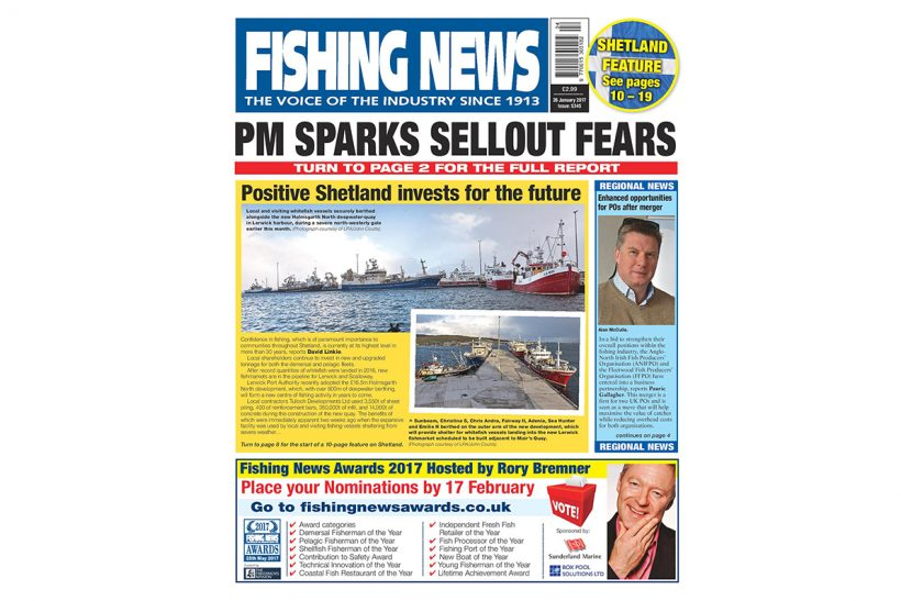 New issue: Fishing News 26.01.17
