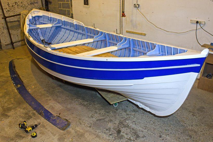 Mizpah: restored double-ended beach boat