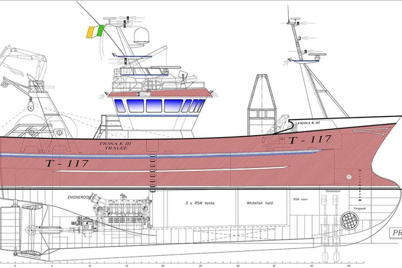 Mooney Boats Ltd to build new 27m Fiona K III