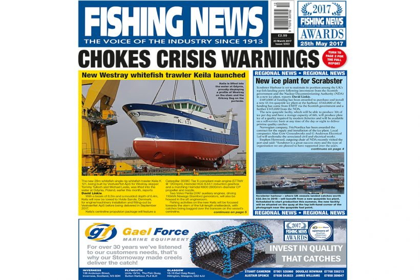 New issue: Fishing News 23.03.17