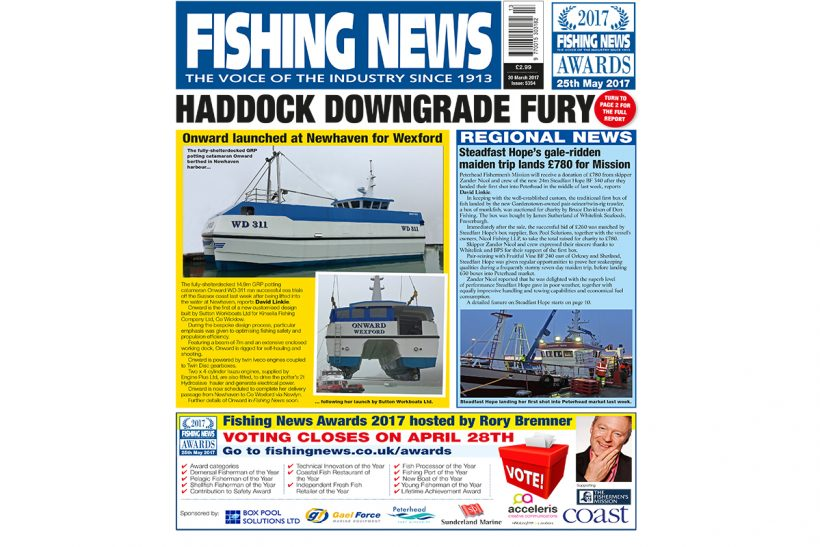 New issue: Fishing News 30.03.17