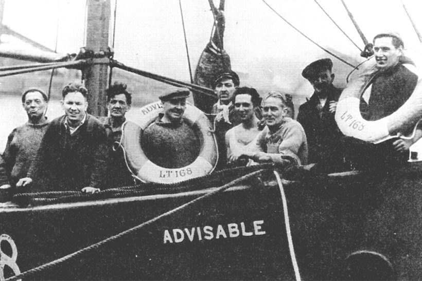 When Lowestoft boats went to fish from Canada