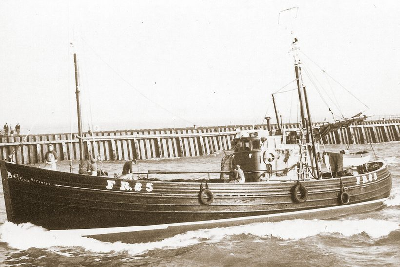 The last of the dual-purpose herring-drifters and seine-netters in the 1960s