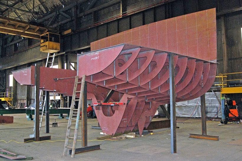 Extensive work schedule for Parkol Marine Engineering