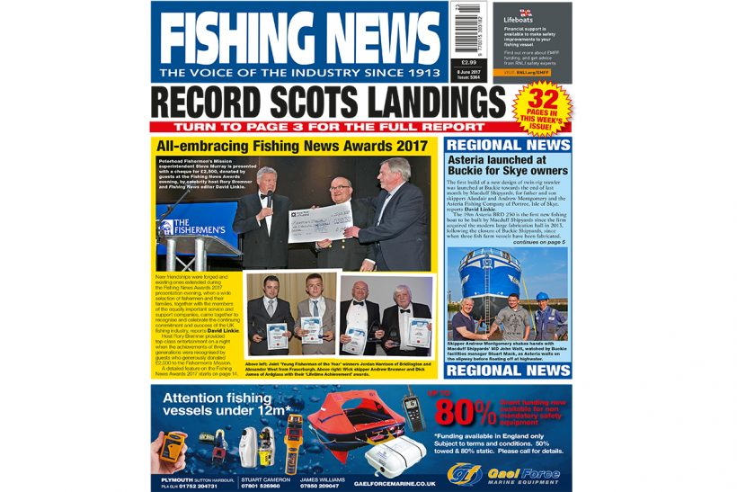 New issue: Fishing News 08.06.17
