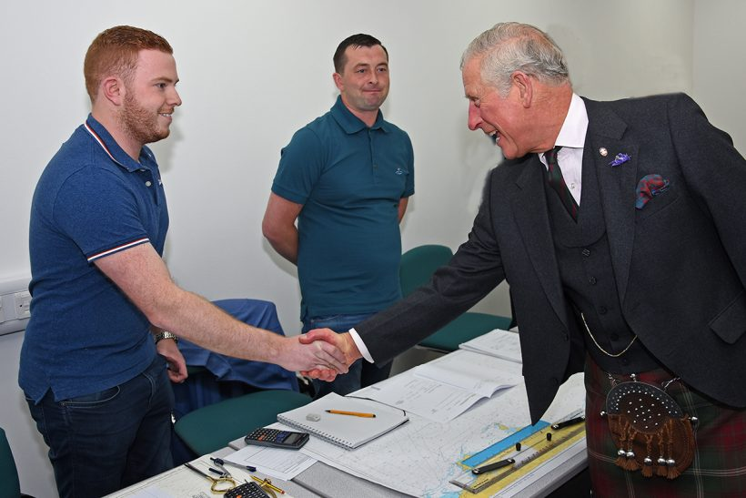 Scottish Maritime Academy welcomes HRH The Prince of Wales