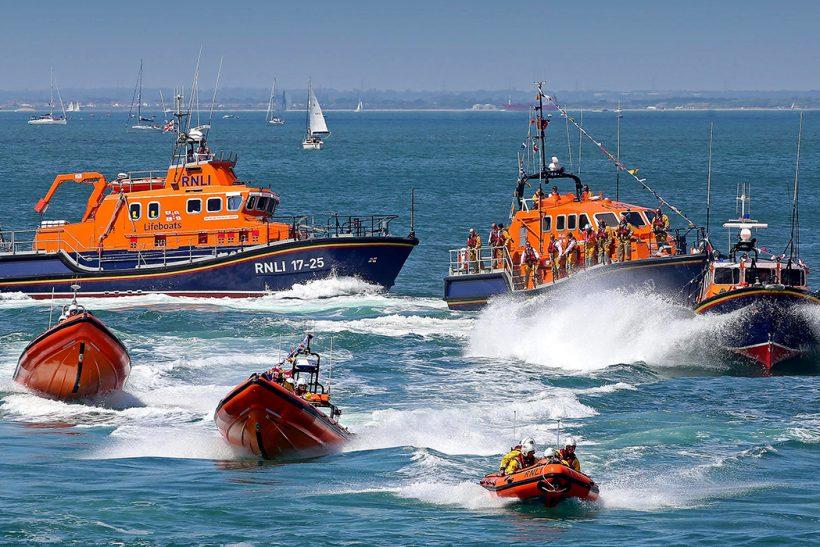 Isle of Wight celebrates 150 years of lifesaving at Bembridge RNLI