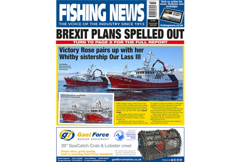 New issue: Fishing News 17.08.17