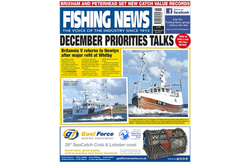 New issue: Fishing News 07.09.17