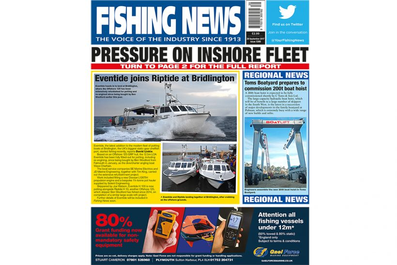 New issue: Fishing News 28.09.17