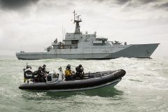 On patrol with the Royal Navy's fisheries protection squadron