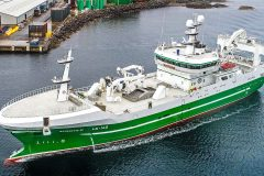 Antarctic II: Newly lengthened and upgraded Shetland midwater trawler starts well on herring