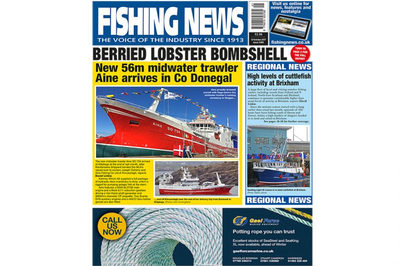 New issue: Fishing News 12.10.17
