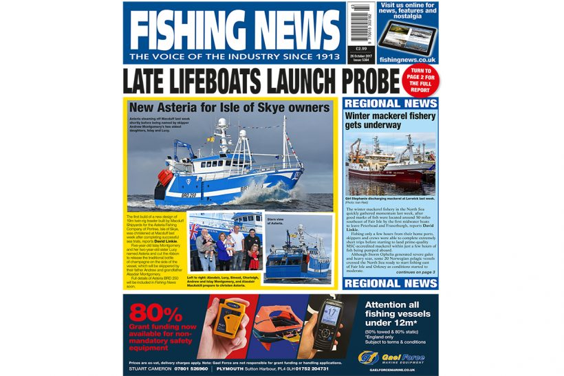 New issue: Fishing News 26.10.17