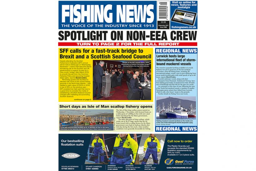 New issue: Fishing News 09.11.17