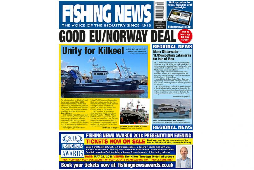 New issue: Fishing News 14.12.17