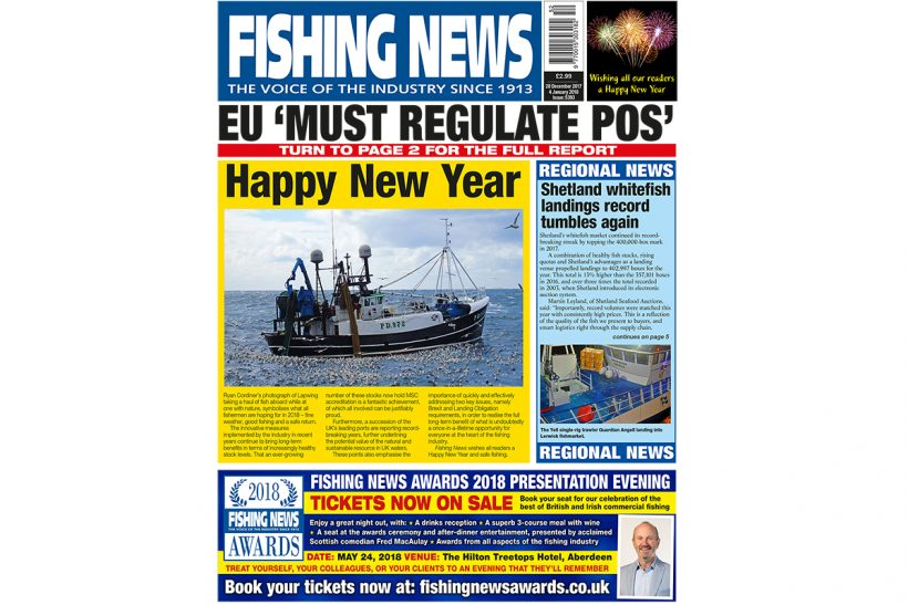 New issue: Fishing News 28.12.17/04.01.18