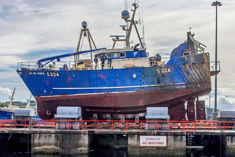 Cu Na Mara refitted by Mooney Boats in Killybegs