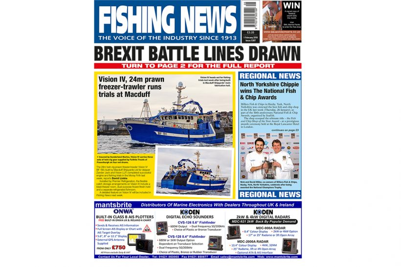 New issue: Fishing News 01.02.18