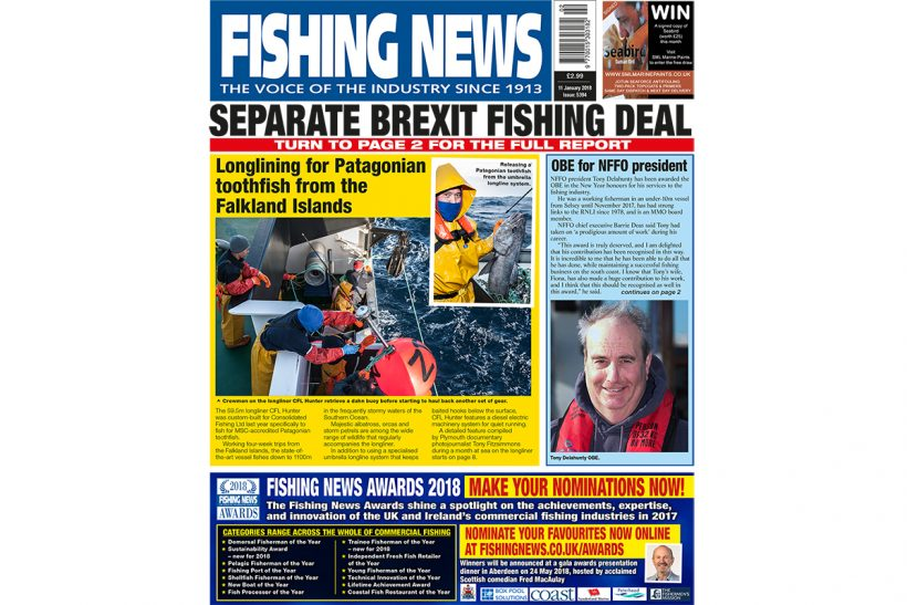 New issue: Fishing News 11.01.18