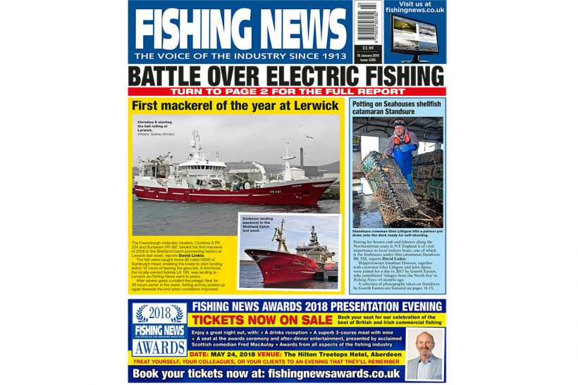 New issue: Fishing News 18.01.18