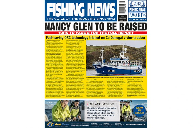New issue: Fishing News 22.02.18