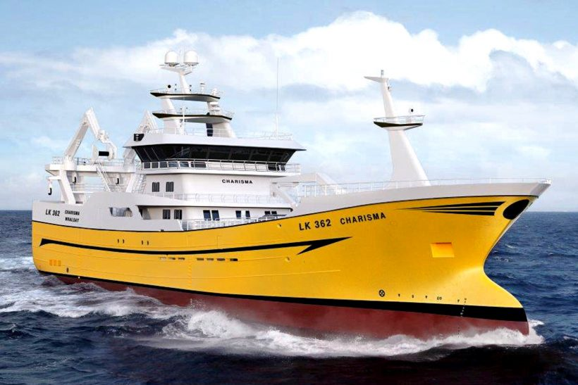 Shetland owners order new 75m midwater trawler Charisma | Fishing News
