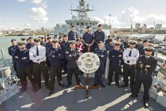 HMS FORTH: The Royal Navy's new Batch 2 River-class Offshore Patrol Vessel