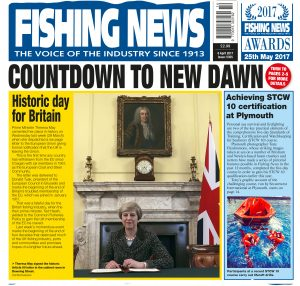 The front cover of Fishing News 6 April 2017