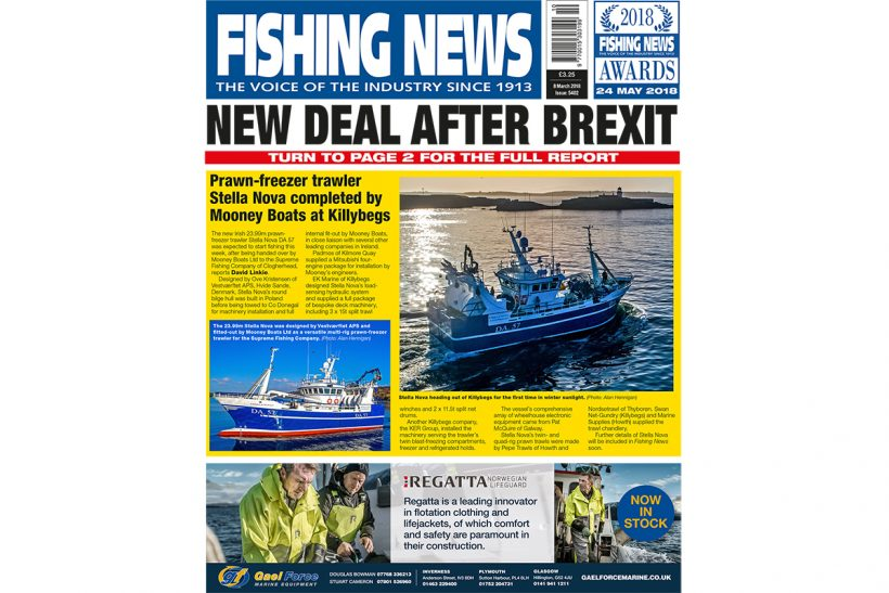New issue: Fishing News 08.03.18