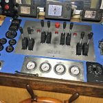 All deck machinery can be operated from the fishing console supplied by Hercules Hydraulics.